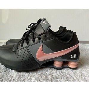 Nike Shox Women's Black Pink Athletic Running Shoe